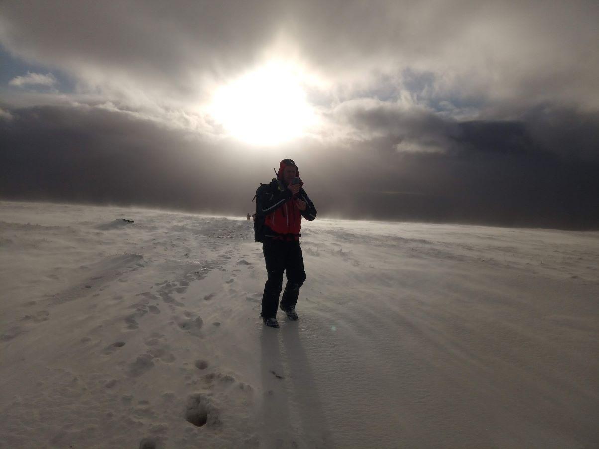 Rob Holden, of Penrith Mountain Rescue Team