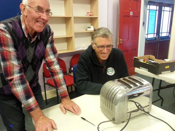 Alston Moor's new Repair Café is seeking volunteers, after last year's successful pilot (pictured)