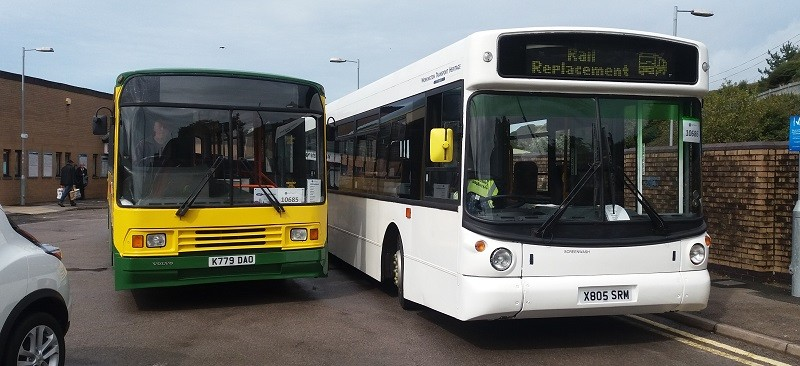 The buses likely to be in service