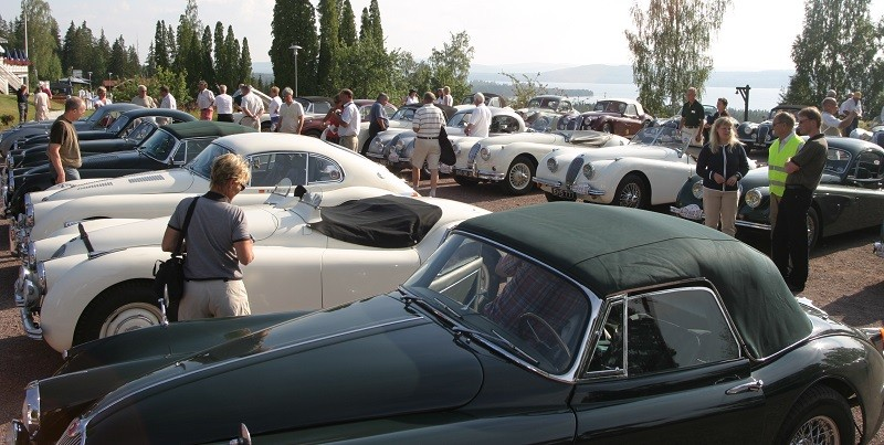 Jaguar XK Club Round Britain Coastal Drive