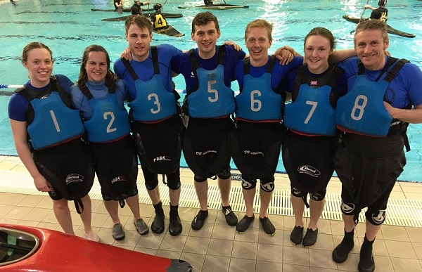 Penrith Canoe Club A team Leeds March 2019