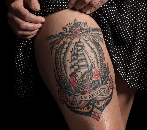National Maritime Museum Tattoo (Abbi Hughes)