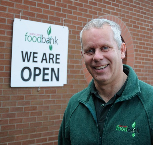 Adrian Cozens - Project Manager at the NL Foodbank