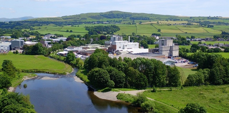 Kendal Nutricare factory, based in the heart of Kendal