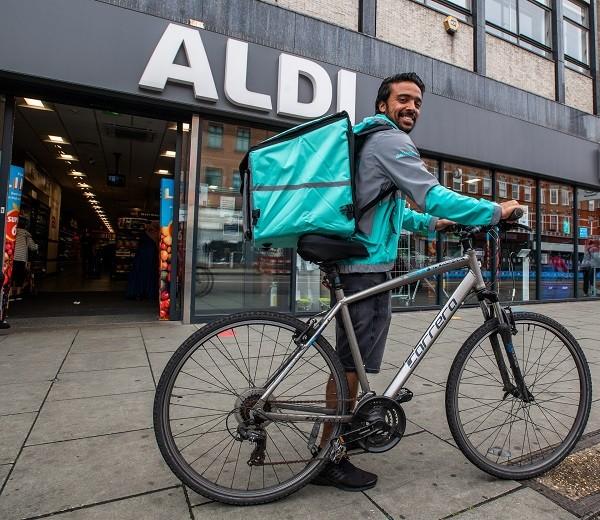 Aldi Deliveroo partnership
