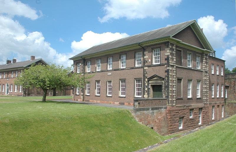 Cumbria's Museum of Military Life in Carlisle Castle