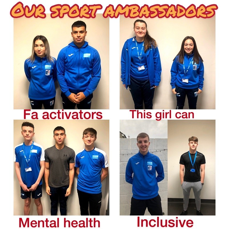 Furness College has appointed a series of Sport Ambassadors, in a project backed by the Association of Colleges