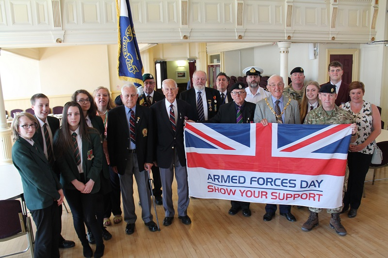 Armed Forces Day in Kendal