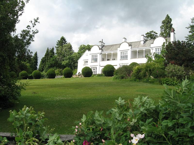 Brockhole House and gardens
