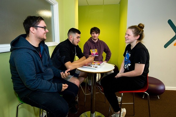 Callum Wager, Jack Bowes, Brady Jesson and Meggan Kennedy have all progressed with their education at CORE.
