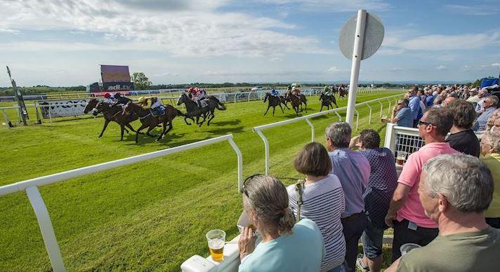 A pre-coronavirus day at Carlisle Racecourse