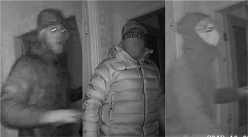 Suspects L-R: 1,2 and 3