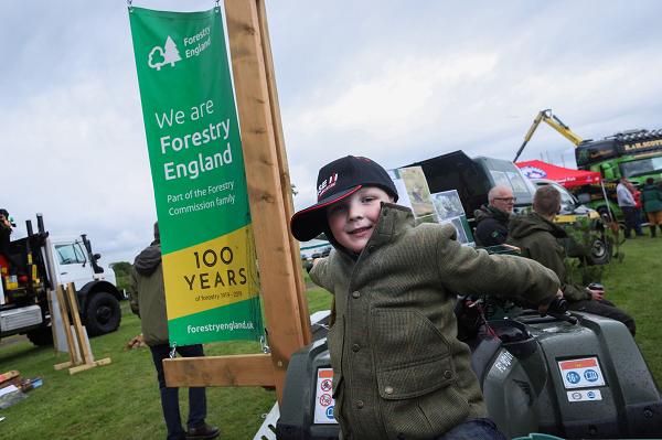 Celebrating 100 years of forestry. Photo credit Neil Denham Photography