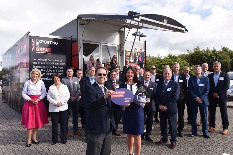 Copeland MP brings Department of International Trade's export hub to Westlakes Science Park (Photo Martin Birchall)