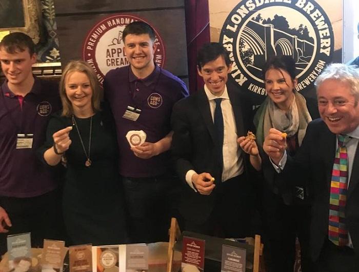 Appleby Creamery with Rory Stewart MP, Liz Truss MP, Trudy Harrison MP and John Bercow
