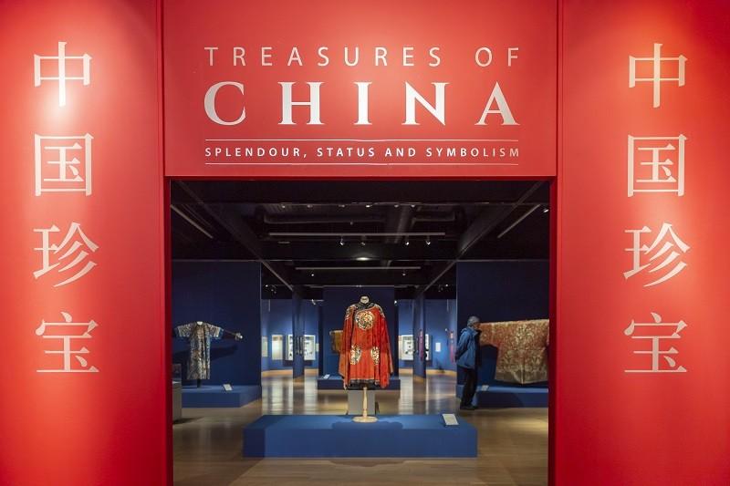 Treasures of China exhibition (photo Stuart Walker Photography)