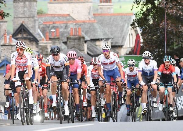 Flashback to 2019 Tour of Britain in Kendal (photo Simon Wilkinson/SWpix.com)