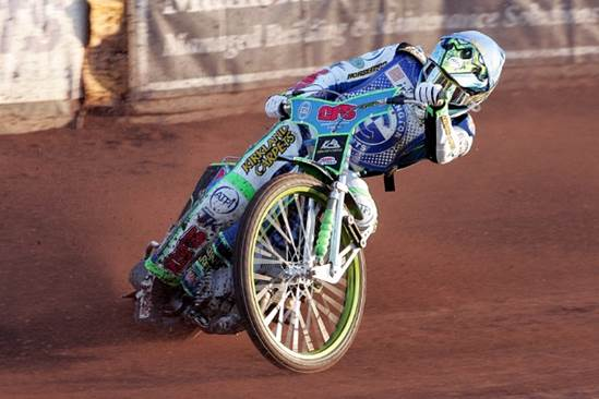 Dan Bewley – on the mend following a successful operation (Photo: Dave Payne)