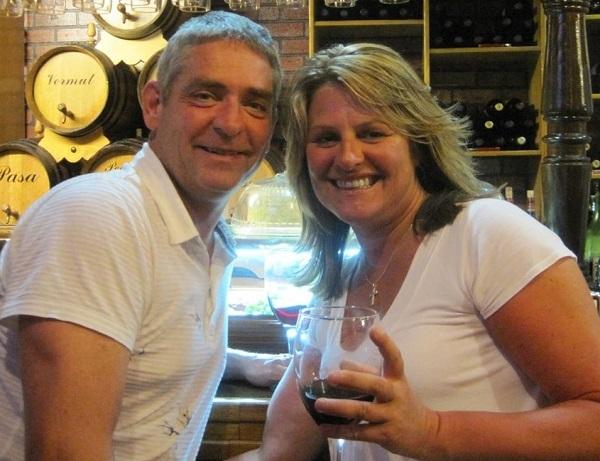 Dave Tinker and Julie Gough