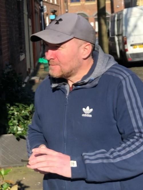 David Graham  leaving Carlisle Crown Court after a previous hearing