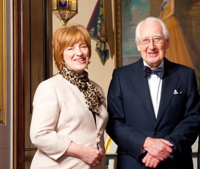 Deborah Shackleton and Professor John Tarn