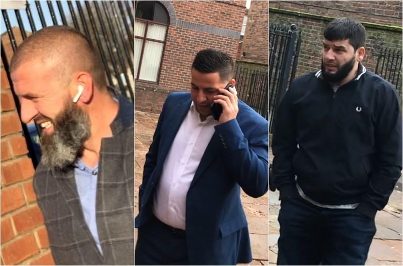 L-R: Defrim Paci, Sitar Ali and Jetmir Paci