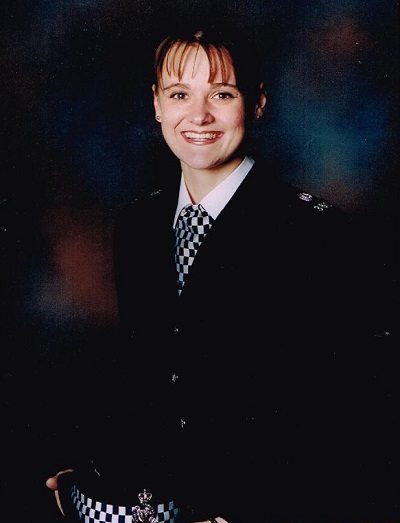 Elaine McIver Passing out Cheshire Constabulary 1998