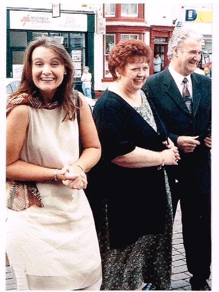 Elaine Mum & Dad at family wedding