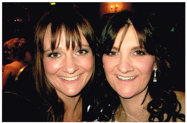 Elaine and her sister Lynda