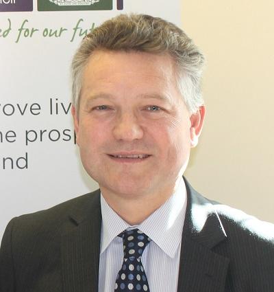 Elected Mayor of Copeland, Mike Starkie