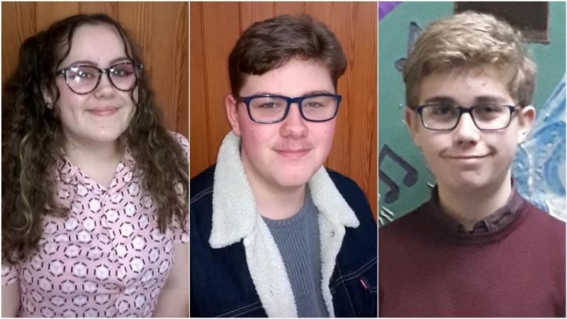 L-R: Ellis Haywood (S Lakes & Barrow), Aaron Kelly (Allerdale & Copeland) and Ben Perris (Carlisle & Eden)