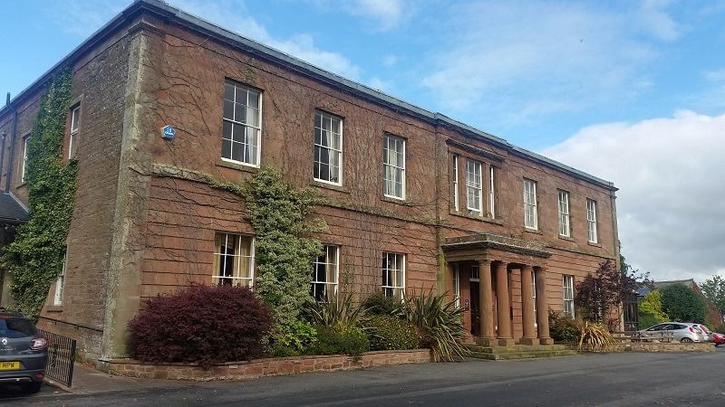 Greenhill Hotel in Wigton