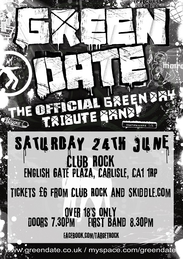 Green Date Carlisle Poster