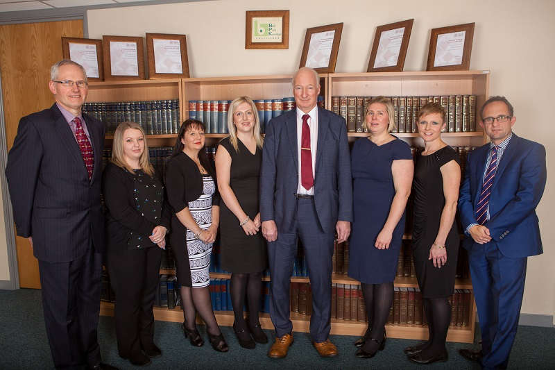 L-R: James Bell (MD); Charmaine Welch; Pearl Pope; Sarah Coyles; Rodney Blezard; Natalie Bell; Claire Harrison; Duncan Carter (Director)