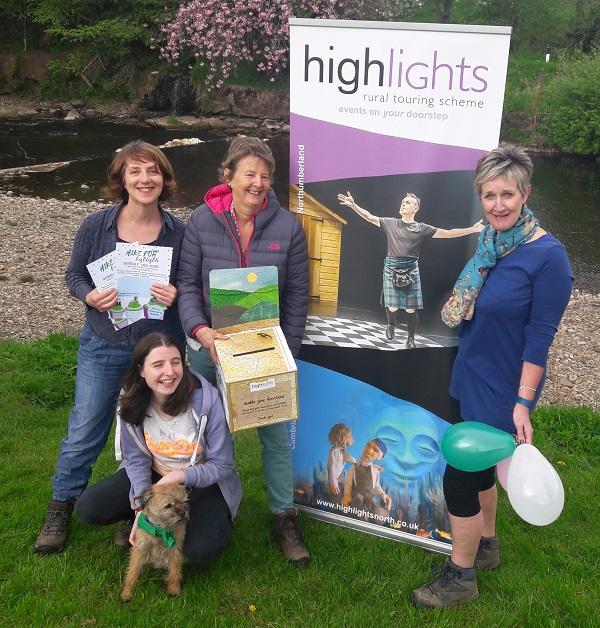 H4H office staff – L-R: Karen Babayan, Alisha Lowis, Barbara Slack and Helen Swaby