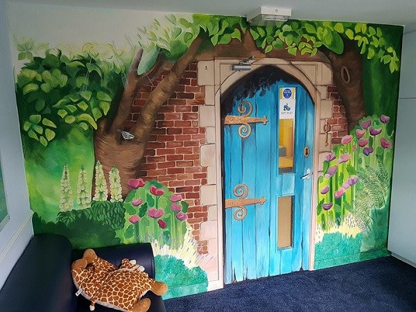 Huntley Ave playroom