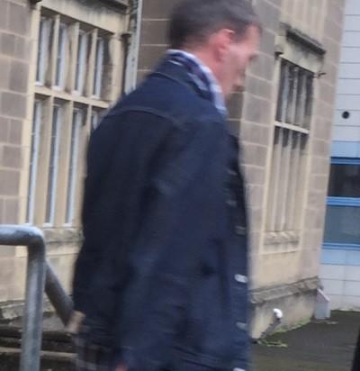 Neil Edwards leaving court