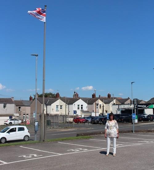 The Mayor of Workington, Cllr Janet King
