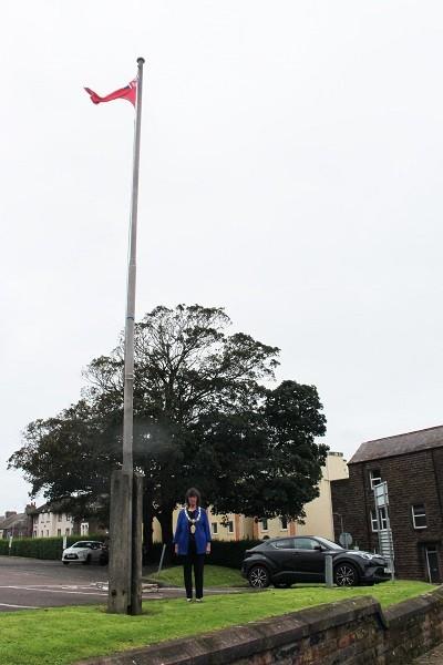 Mayor of Workington, Cllr Janet King