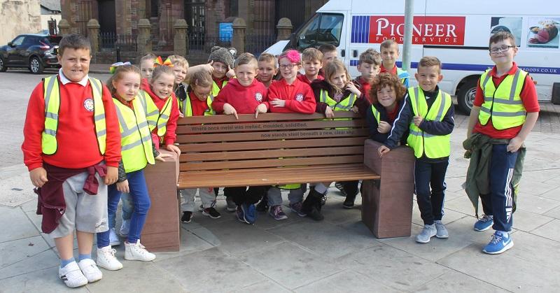 Hensingham Primary School Year 3 pupils