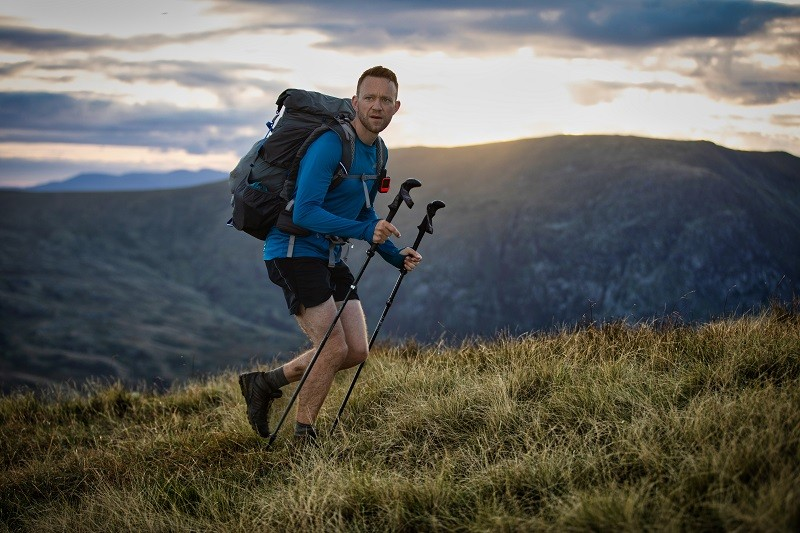 James Forrest on his Wainwrights expedition. Picture credit - www.inov-8.com Dave MacFarlane