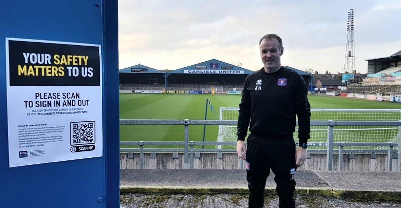 John Halpin, manager of Carlisle United FC Community Sports Trust