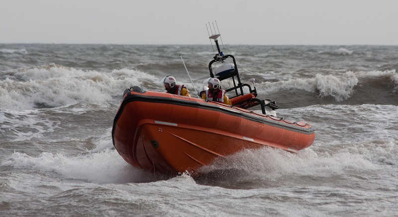 St Bees Atlantic 85 class lifeboat B-831 Joy Morris MBE.