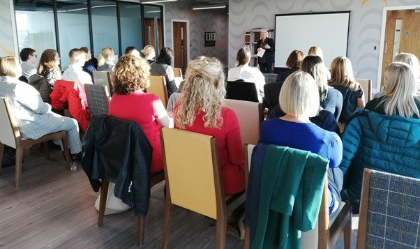 Stobart Group's Kate Willard chairs the Women in Property seminar