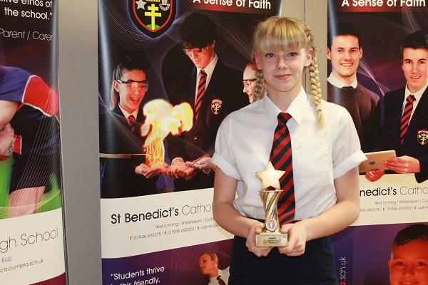 Katie Herbert 1st Place Outstanding Achievement in Sport