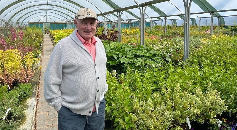 Keith Singleton at Keith Singleton Horticulture, Nethertown