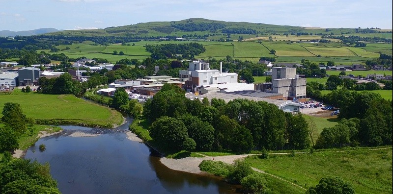 Kendal Nutricare factory is based in Kendal, on the edge of the Lake District National Park