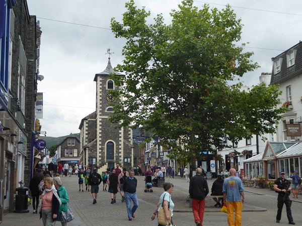 Keswick Market Square and the Moot Hall, site for the Town Trials (Photo Keswick Tourism Association)