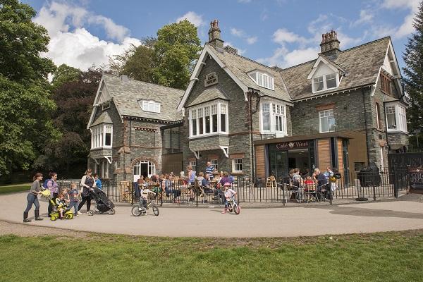 Keswick Museum from Fitz Park