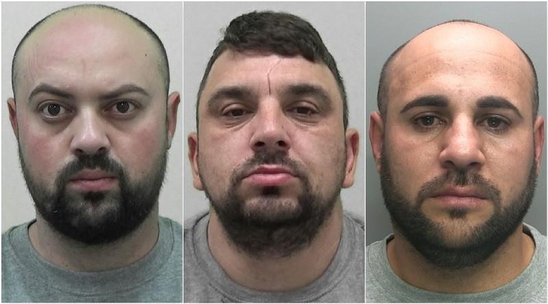 L-R: Leonard Cristea, Ionut Madalin Iosif and Gheorghe Bratianu